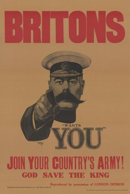 WWI Lord Kitchener Poster