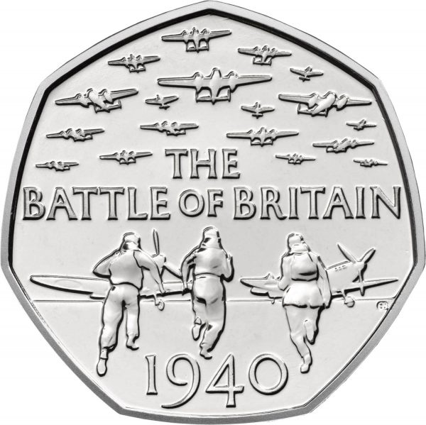 Image of Battle of Britain 2015 UK 50p coin