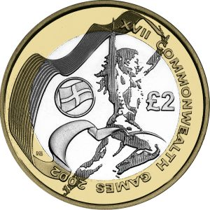Image of Commonwealth Games 2012 UK 2 pound coin