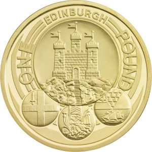 Image of Edinburgh 2011 UK 1 pound coin