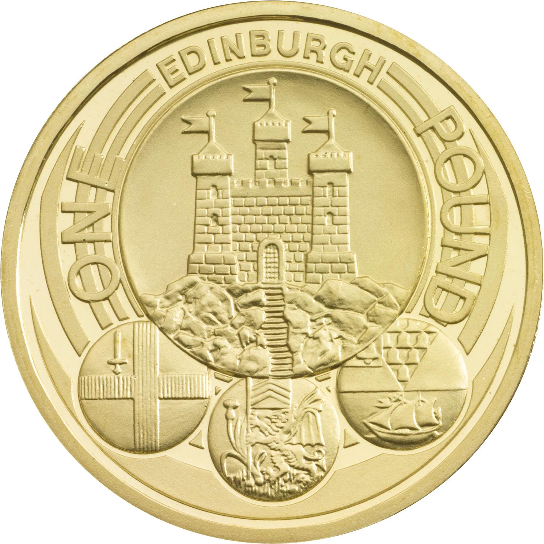 edinburgh pound coin worth