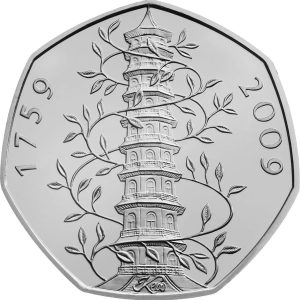 Image of Kew Gardens 2009 UK 50p coin