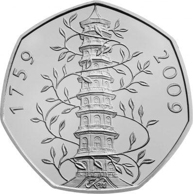 Image of Kew Gardens 2009 UK 50p coin