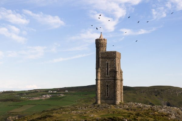 Milners Tower Isle of Man by Alexey Komarov licensed under CC-BY-2.0