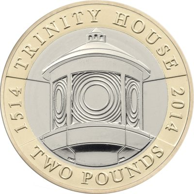 Image of Trinity House 2014 UK 2 pound coin