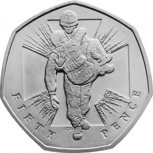 Image of Victoria Cross Soldier 2006 UK 50p coin