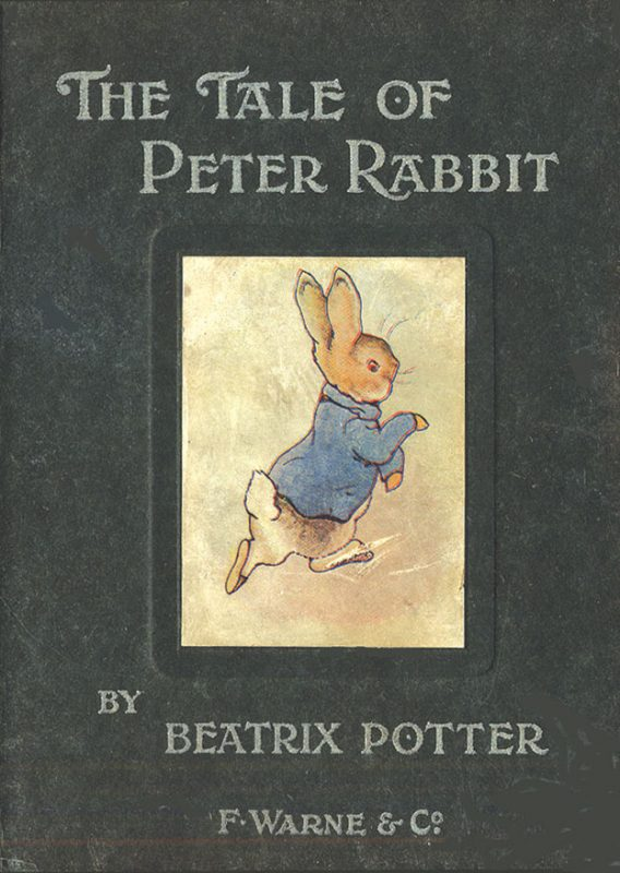 Cover of the First Edition of The Tale of Peter Rabbit