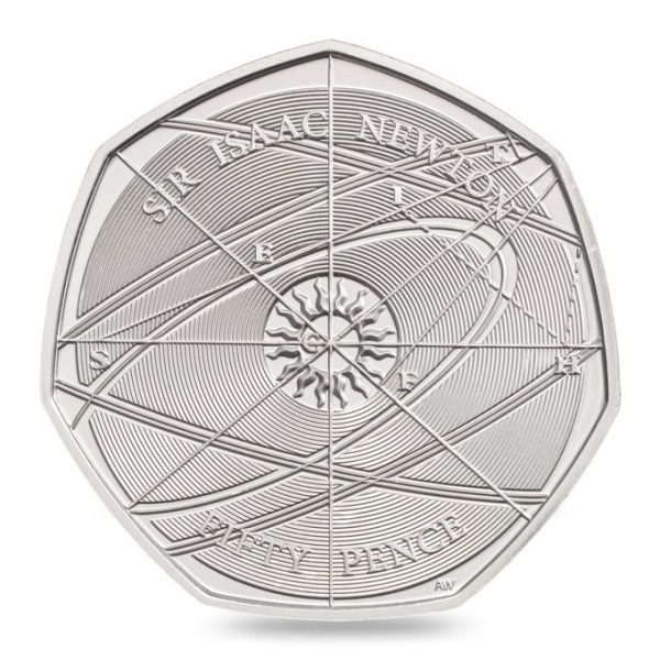 Image of the Isaac Newton 2017 50p
