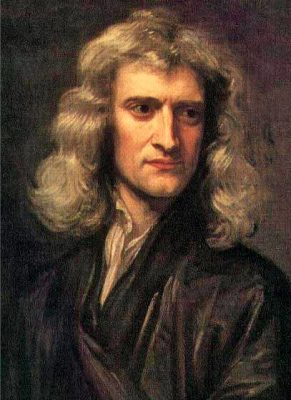 Isaac Newton Portrait by Sir Godfrey Kneller 1689