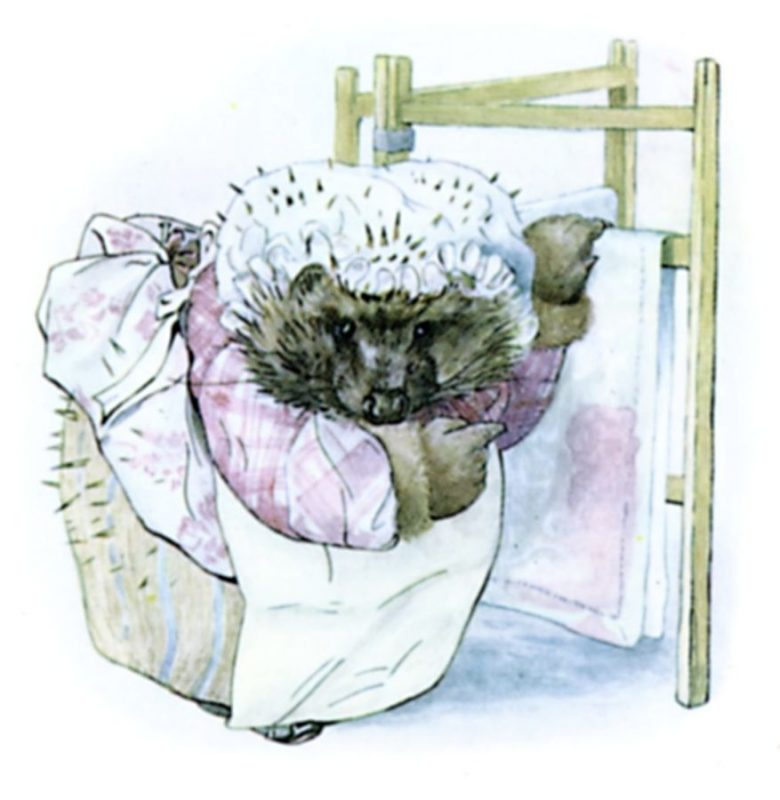 Illustration of Mrs Tiggy-Winkle