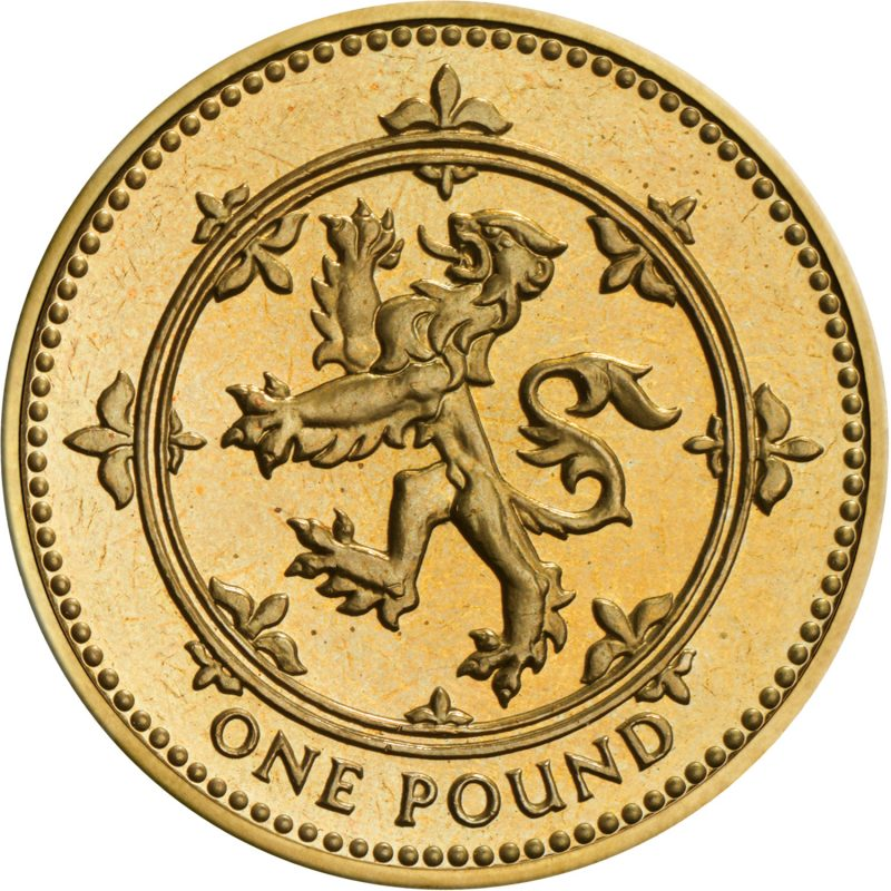 Image of 1994 1 pound coin