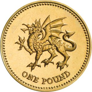 Image of 1995 1 pound coin