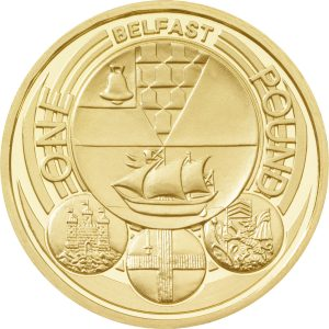 Image of 2010 Belfast 1 pound coin