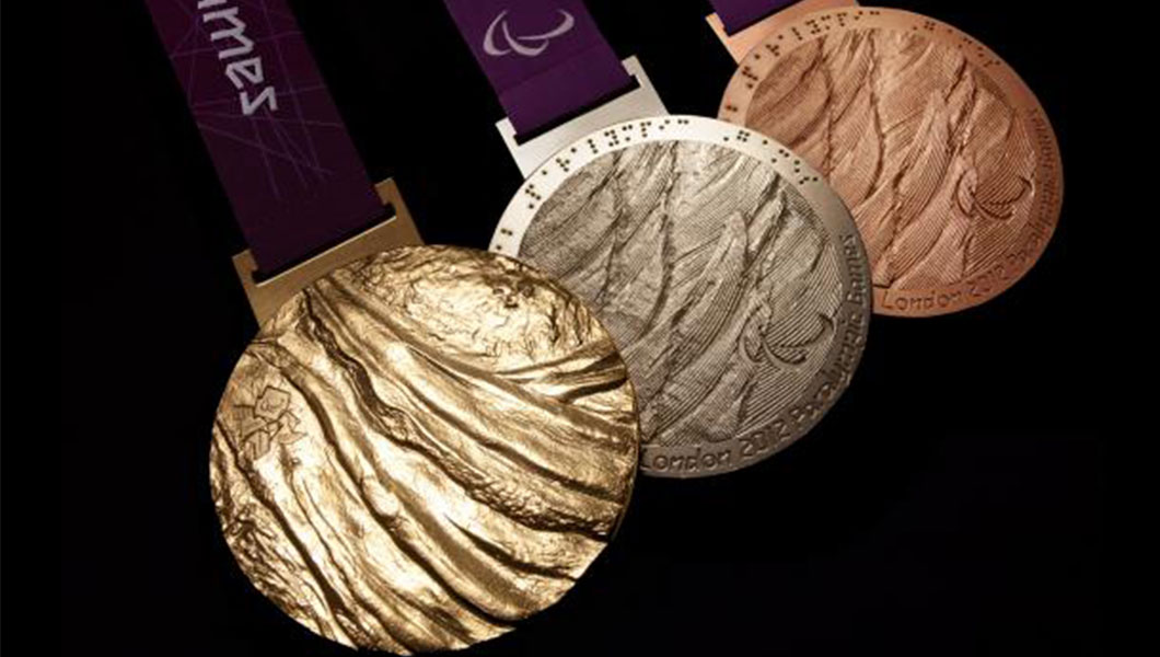 London 2012 Paralympic Medals