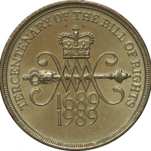 Image of the Tercentenary 2 pound coin