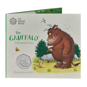 Image of Gruffalo 50p packaging