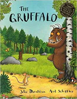 Cover of the children's book, The Gruffalo
