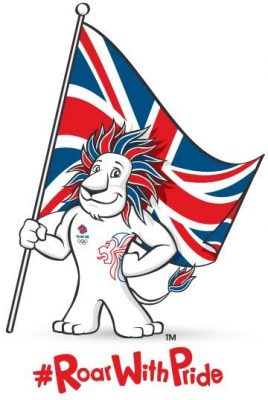 Team GB's Lion Mascot