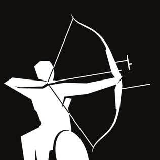 Pictogram of Archery for the 2012 London Paralympics