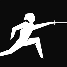 Fencing Pictogram at London_2012