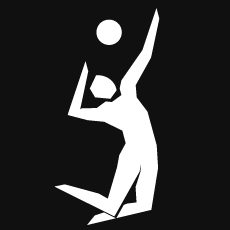 Indoor Volleyball Pictogram at London_2012